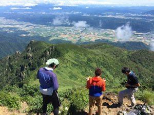 芦別岳登頂
