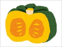 かぼちゃの絵