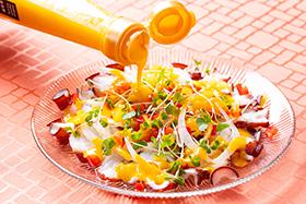 ドレッシング海鮮サラダ