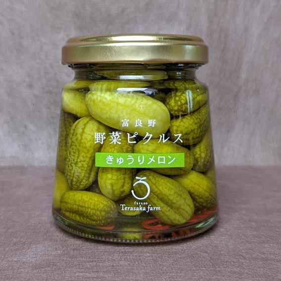 富良野野菜ピクルスきゅうりメロンの商品写真