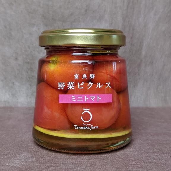 富良野野菜ピクルスミニトマトの商品写真