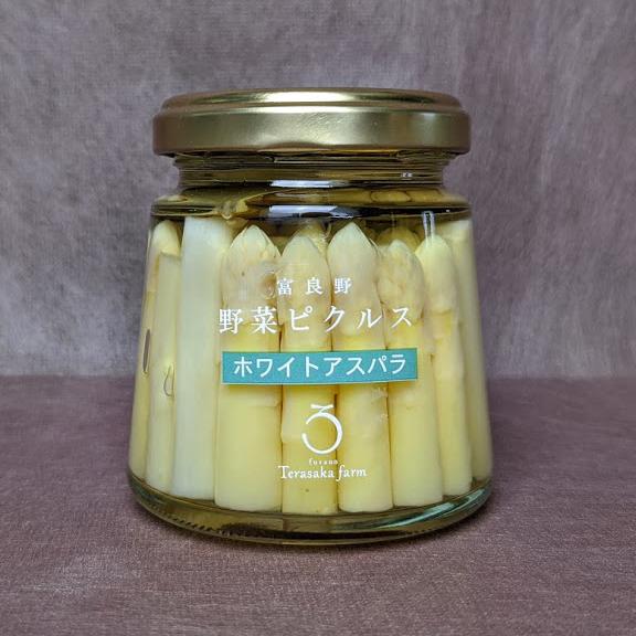 富良野野菜ピクルスホワイトアスパラの商品写真